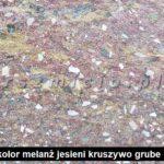 kolor łupany melanż jesieni gruby